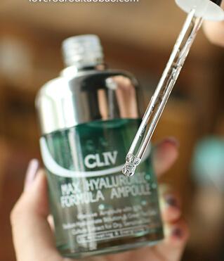 韩国cliv 绿胖子干细胞透明质酸精华安瓶 100ml
